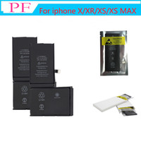 Wholesale phone copies resale online - Full Original New Not Copy capacity Zero Cycle Built in Internal Li ion Phone Battery For iPhone X Xs XR Replacement
