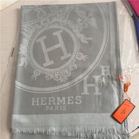 xales de algodão flor venda por atacado-Nova marca de algodão de lã lenço de algodão super macio transporte clássico fio tingido de flores xale