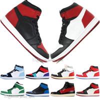 Wholesale wrestling shoes for sale resale online - Hot Sale OG Banned Bred Toe Spider Man UNC s top Mens Basketball Shoes NO For Resale Couture Royal Blue Men Sports Designer Sneakers