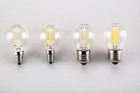 ingrosso illuminazione del globo di sostituzione-Lampadine a LED G45 2W dimmerabile 110V / 220V Lampadina a LED E14 // E26 / E27 / B22 Lampadina a globo bianco morbido Sostituzione di 15 watt