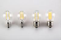 Wholesale replacement globe lighting resale online - LED Light Bulbs G45 W Dimmable V V LED BulbE14 E26 E27 B22 Socket Soft White Globe Light Bulb Watt Replacement