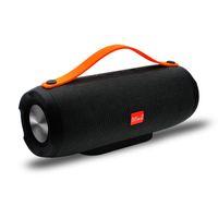 Wholesale waterproof speaker mic for sale - Group buy E13 Wireless Bluetooth Speaker Portable Handle Loudspeaker W Stereo HiFi Soundbox Outdoor Waterproof Speakers with Mic FM Radio USB