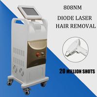 медицинское удаление волос оптовых-808nm машина Диодный лазер 808nm Удаление волос Быстрое косметологическое оборудование Maglaser Medical Laser 808 безканальная ручка