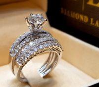 серебряная змея оптовых-Европейские и американские модные женские роскошные дизайнерские украшения женские кольца бриллиантовое кольцо обручальные кольца комплекты