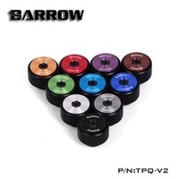 Wholesale valves manual resale online - Barrow G1 quot Manual Air Exhaust Valve Filter Multicolor New CD pattern Water Cooling Black Silver White Colors TPQ V2