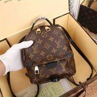 moda kahverengi omuz çantası toptan satış-2019 M40019 Petite Malle Moda Mini Kahverengi Sırt Bagaj Omuz Çantaları Çanta Kemer Çantası