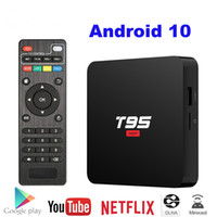 Wholesale super android quad for sale - Group buy Android TV Box T95 Super Smart Android TV Box Allwinner H3 GPU G31 GB DDR3 RAM GB G WiFi HD OTT Media Player