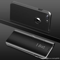 ingrosso flip cover iphone vista-Nuovo Apple iPhone 6 6s 7 8 X Plus. Custodia in pelle per Smart Flip