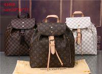 ingrosso borse di marca di cuoio-2018v stili borsa famoso designer marchio di moda in pelle borse donne tote borse a tracolla della signora borse in pelle borse borsa 43438