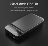 Wholesale jump starter booster resale online - 70mai Jump Starter Mai car jump starter Battery Power Bank Real mah Car Starter Auto Buster Car Emergency Booster Battery