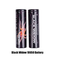 e zigarette wiederaufladbare batterien großhandel-Hochwertige Black Widow IMR 18650 Batterie 3500mAh 40A 3.7V High Drain Akku für E-Zigarette Vape Box Mod