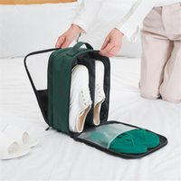 Wholesale storage pouch for shoes resale online - Portable in Travel Shoe Bags Waterproof Shoe Storage Pouch Organizer for Business Trip Home Wardrobe