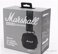Wholesale good kit motorcycles for sale - Group buy New Style Marshall Bluetooth Car Kit Motorcycles Car Wireless Bluetooth Headset Stereo Good Sound Wireless Bluetooth Earphone