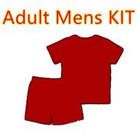 больше мужских костюмов оптовых-Комплект для взрослых 2019 2020 футбола Джерси мужского набора 19 20 женихов костюма футбол рубашки Более 10 бесплатных обновлений для DHL