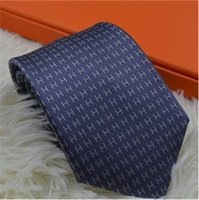 lazo de matrimonio al por mayor-2019 nuevo Tie Major Marca Seda Caja de regalo Corbata Matrimonio 7.5 cm Business Tie Narrow Edición original