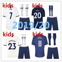 Wholesale thailand soccer kits resale online - Thailand Spurs soccer jersey kids kit kane LAMELA ERIKSEN DELE SON jerseys Football shirt uniforms CAMISETAS DE FUTBOL