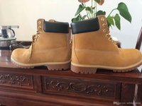 Wholesale man snow boots big size for sale - Group buy Outlet inch boots man Premium Ankle Boots Men s big tree Timber Work Hiking Shoes Winter Snow Boots for women Brand New Size
