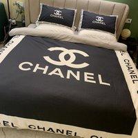 cama de tamanho queen size venda por atacado-Alta Qualidade Bed Comforters Define conjuntos de roupa de cama de luxo de moda Cotton Quatro peças com lençóis e Two Tamanho fronha Rainha