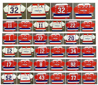 tj oshie jersey venda por atacado-Vintage Washington Capitals Jersey 12 PETER BONDRA 34 AL IAFRATA 17 MIKE RIDLEY 8 LARRY MURPHY 92 KUZNETSOV 43 TOM WILSON 77 TJ OSHIE Hockey