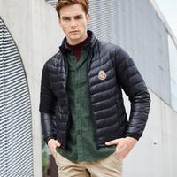 homens casacos casacos venda venda por atacado-Venda quente Mens Designer Casacos Doudoune Homme Jaqueta Marca de Luxo Casacos de Inverno ParkaMONCLERD2FF