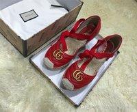 использованные промахи оптовых-Классические женские кожаные сандалии Sippler, эспадрильи квартиры с соломой плетение подошвы Повседневная обувь женщины скольжения на для ежедневного использования Z07