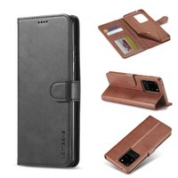 Wholesale leather iphone wallet credit card cases for sale – best PU Leather Phone Case For Samsung S20 Plus Ultra Soft TPU Wallet Case Luxury Back Cover with Credit Card Slots for iPhone