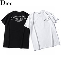 Wholesale little luxuries for sale - Group buy 20ss men Classic luxury tshirts for male terry handsome Breathable Loose version cutting process Short sleeve Little Bee priting tees