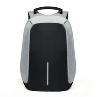 Wholesale 13 tablets resale online - 15 inch Laptop Backpack USB Charging Anti Theft Backpack Men Travel Backpack Waterproof School Bag Male Mochila