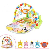 Wholesale creep pad for sale - Group buy Dropship baby mat carpet musical activity gym puzzle children s tapete infantile Soft pad floor game creeping developmental toy