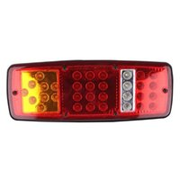 Wholesale car indicators for sale - Group buy 1pc LED Stop Brake Tail Light Rear Indicator Reverse Lamp for V Trailer Truck RV Car Lights Accessories
