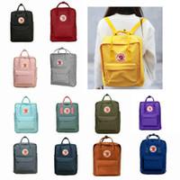 mochila de lona mochila para a escola venda por atacado-Estudante de Raposa sueca À Prova D 'Água Mochila Homens Womens Moda Estilo de Design Bolsa de Ombro Júnior Mochila de Lona de Escola Secundária Bolsa de Desporto de Marca