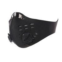 ingrosso bicycle dust mask-Mountain Road Bike Bicycle Mezza Maschere Anti-Polvere Ciclismo Maschera Traspirante Carbon attivo Ciclismo Maschera da corsa