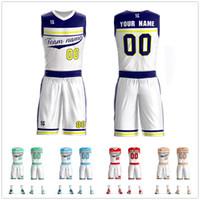 03fa2d3ab8f Mens Youth Basketball Jerseys Custom Kids Basketball Clothes Breathable  Team Sport Tracksuit Sleeveless Sportswear DIY Uniforms