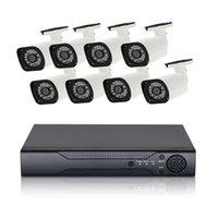 segurança dvr 8ch venda por atacado-8CH AHD DVR sistema de vigilância 1080 P AHD set câmera HD CCTV DVR gravador de segurança para casa