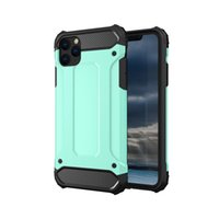 Wholesale heavy duty iphone hybrid online – custom Luxury fashion Armor Phone Case Heavy Duty Hybrid Cover For iPhone Pro MAX Xs XR Samsung Note10 S9 plus