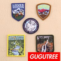 emblemas de animais venda por atacado-GUTUTILHA bordado animal patches remendo patch Applique Patch para o Brasão, T-Shirt, chapéu, sacos, camisola, mochila SP-275