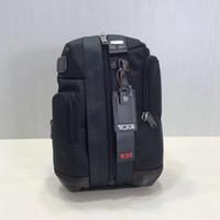 orangenschlinge großhandel-TUMI ballistische Nylon Mode 222318 Freizeitreisen Brusttasche Computer IPAD Männer und Frauen Tasche