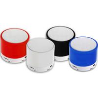 mavi mini dizüstü bilgisayarlar toptan satış-Bluetooth Hoparlör S10 Stereo Mini Hoparlörler Bluetooth Taşınabilir Mavi Diş Subwoofer Mp3 Çalar Parlantes Müzik Usb Çalar Dizüstü Hoparlör