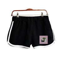 ingrosso collant donna carina-Ariana Grande Printed Thank you next Summer Shorts Cute Casual Fashion Summer Kpop Sexy Shorts stretti Harajuku