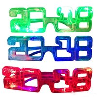 Wholesale bulbs toys for sale - Group buy New LED glow glasses Flash glasses Toy dance Light Up Led flashing glasses Halloween Christmas Birthday Party Eyewear