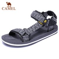 Wholesale cool new sandals resale online - CAMEL New Casual Men s Sandals Summer Outdoor Beach Men Sports Fashion Cool Anti slip Water Resistance Male Flats Couples Shoes