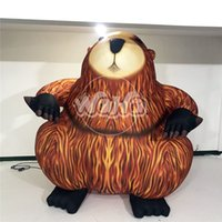 ingrosso grandi palloncini pubblicitari-Ratto gonfiabile gigante / grande topo gonfiabile / animale gonfiabile del pallone del ratto unino gonfiabile per la pubblicità all'aperto