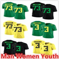 Wholesale ducks football jersey for sale - Group buy customize NCAA Oregon Ducks football jerseys Tyrell Crosby Vernon Adams Jr Troy Hill jersey any name number size S XL