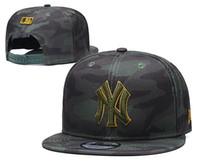 baseball hats navy blue venda por atacado-NY Classic Team Azul marinho Cor no campo Bonés de beisebol equipados Moda Hip Hop Esporte ny Fechado Fechado Design Caps Barato Popular Hat