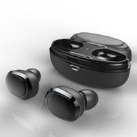 auscultadores invisíveis do bluetooth da orelha venda por atacado-T12 TWS Fones De Ouvido Sem Fio Bluetooth 5.0 Fone De Ouvido Intra-auriculares Estéreo Música Fones De Ouvido Invisible Fones De Ouvido Hands-free Caixa De Carregamento