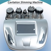Wholesale body rf radio frequency resale online - 2019 Best portable Ultrasound cavitation machine cavitation radio frequency tripolar rf skin machine fast body slimming