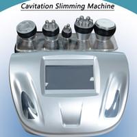 maquinas rf de cavitação de ultra-som venda por atacado-2019 melhor máquina portátil da cavitação do ultra-som da cavitação da freqüência ultraelevada da radiofrequência da cavitação da máquina da pele do rf do ultra-som