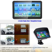 Wholesale audio video navigation for sale - Group buy 704 Inch GB ROM M RAM Capacitive Touch Screen GPS Navigator HD Portable GPS Navigation FM Audio And Video Player