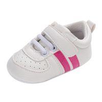 moda, beleza, crianças venda por atacado-Venda quente Da Criança Da Menina Bonito Sneakers Macio Recém-nascido Anti-slip Bebê Esporte Sapatos Durável Aconchegante Estilo de Beleza Moda Infantil Sapatos