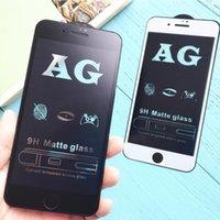 iphone mat cam toptan satış-IPhone 7 için temperli Cam 8 X XS MAX Artı Japonya Ekran Koruyucu Kalın 3D Yansıma Önleyici antijen mat Filmi